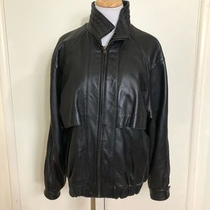 Gorgeous 1980's vintage leather jacket
